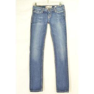 BKE jeans 27 X 31 Stella skinny bling back pockets